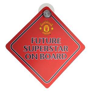 Bilde av Man Utd skilt baby on board