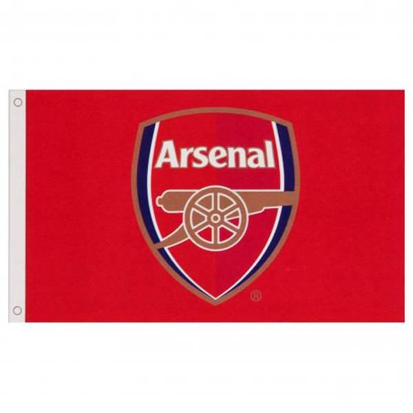 Arsenal flagg core crest