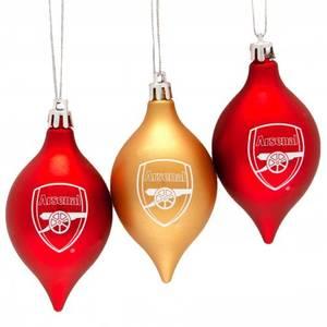 Bilde av Arsenal 3pk julekuler