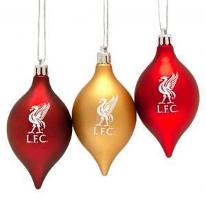 Bilde av Liverpool 3pk julekuler
