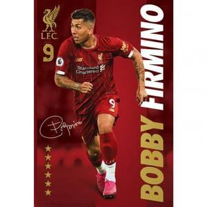 Bilde av Liverpool plakat Firmino