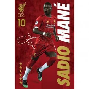 Bilde av Liverpool plakat Mane