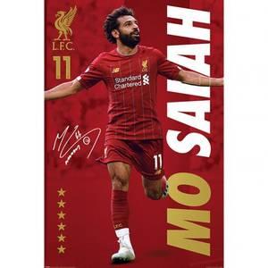 Bilde av Liverpool plakat Salah