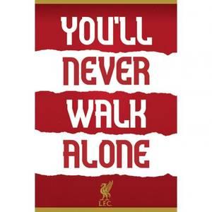 Bilde av Liverpool plakat YNWA