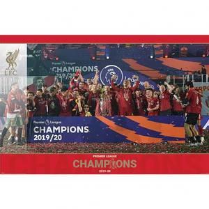 Bilde av Liverpool plakat PL Champions Trophy