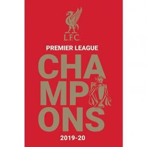 Bilde av Liverpool plakat PL Champions