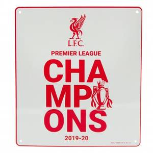 Bilde av Liverpool skilt PL Champions