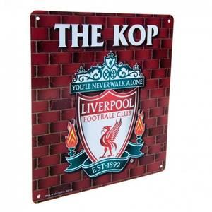 Bilde av Liverpool skilt The Kop