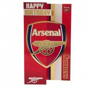 Bilde av Arsenal bursdagkort