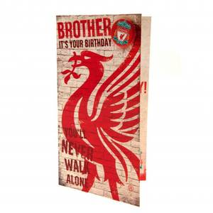 Bilde av Liverpool bursdagskort Brother