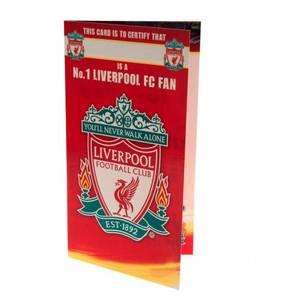 Bilde av Liverpool bursdagskort No 1 Fan