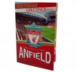 Bilde av Liverpool bursdagskort Pop-Up