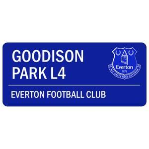 Bilde av Everton skilt street