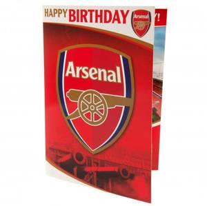Bilde av Arsenal bursdagskort m. lyd