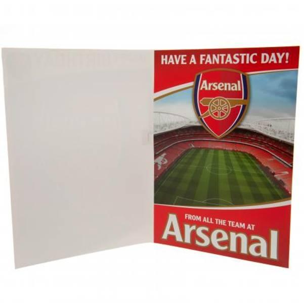 Arsenal bursdagskort
