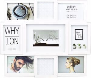 Bilde av Collage 9 Bilder hvit