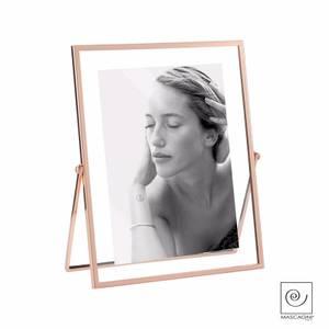 Bilde av Metal Frame Double Glass 13x18cm Copper