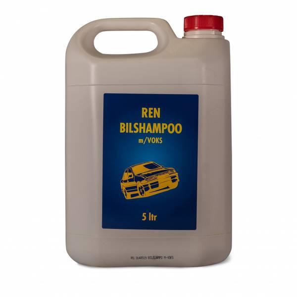 Ren Bilshampo m/voks 5 Liter