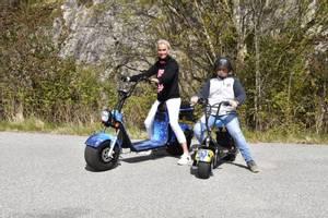 Bilde av Harley Scooter 1500w 60v 20AH
