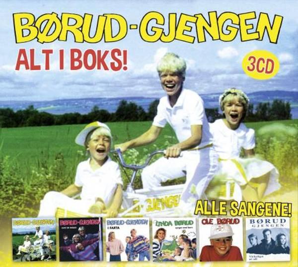 Børud-Gjengen: Alt i Boks (3xCD)