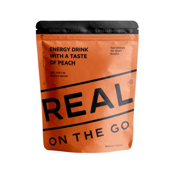 Bilde av Real Energidrikk Taste of Peach
