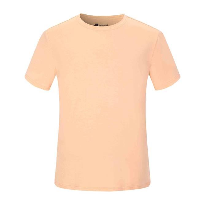 Bilde av Skogstad Pollen t-skjorte Peach Nectar Herre