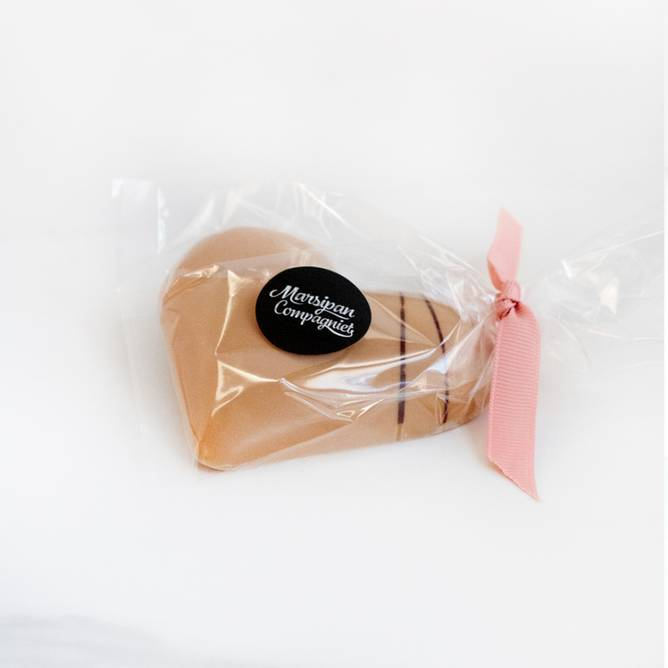 Bilde av Marsipan Compagniet Stort Sjokoladehjerte m/fyll