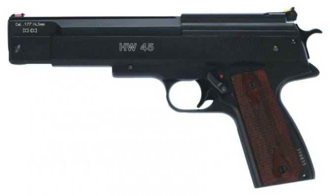Bilde av Weihrauch Luftpistol mod. 45 4,5mm