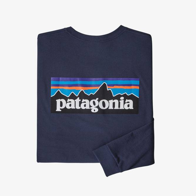 Bilde av Patagonia Mens Long-Sleeved P-6 Logo