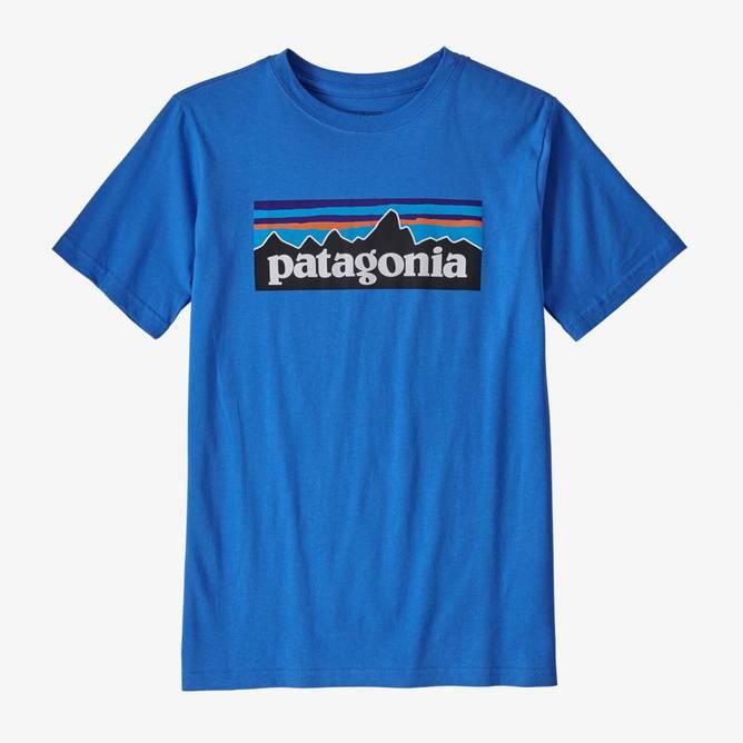 Bilde av Patagonia P-6 Logo Organic T-shirt Bayou Blue