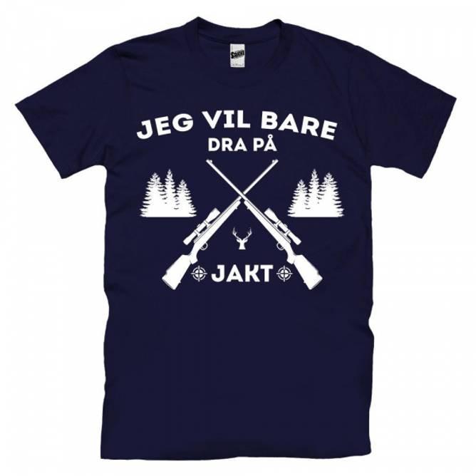 Bilde av T-skjorte Jakt Barn