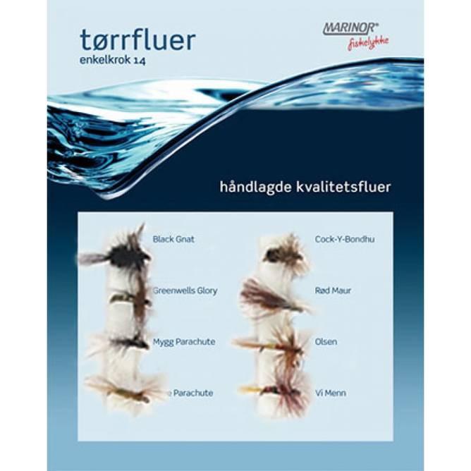 Bilde av Fluesett Tørrfluer Marinor