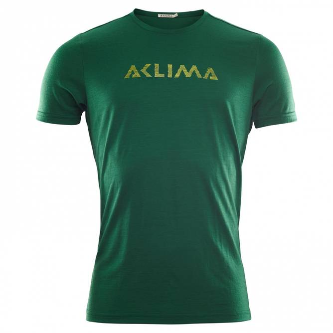 Bilde av Aclima LightWool T-shirt logo M Eden