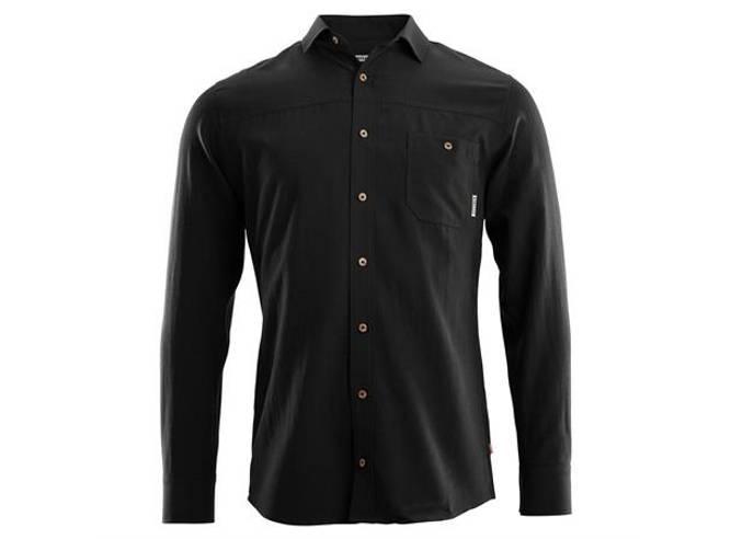 Bilde av Aclima LeisureWool Woven Wool Shirt M Jet Black