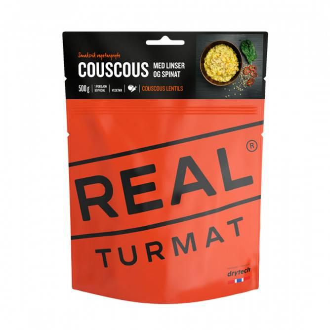 Bilde av Real Turmat Couscous med linser og spinat