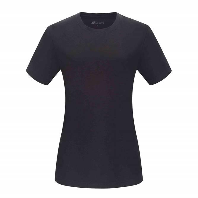 Bilde av Skogstad Ramnefjellet t-skjorte Black dame