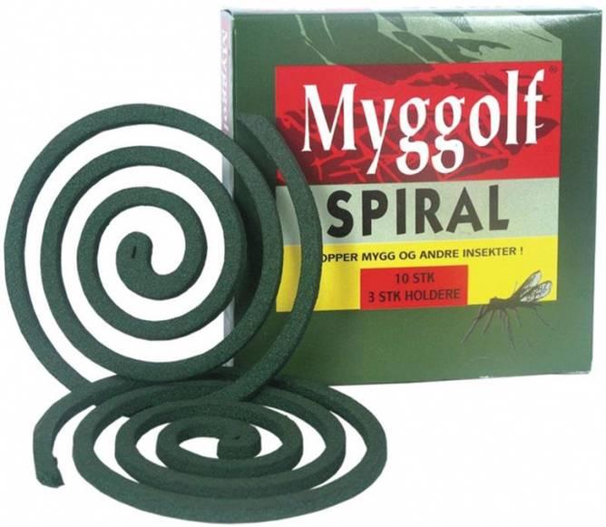 Bilde av Myggolf  Spiral 10 PK