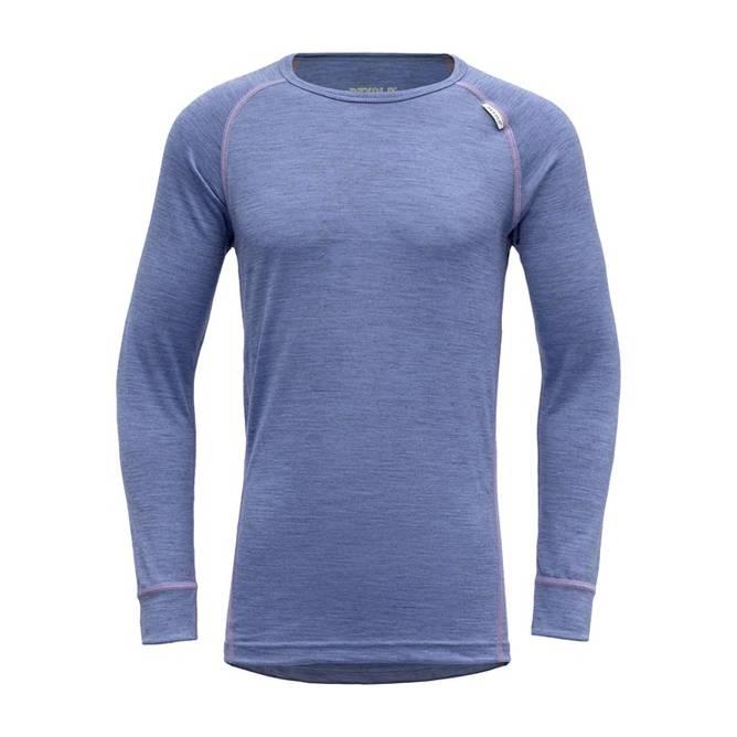 Bilde av Devold Breeze Junior Shirt Bluebell Melange