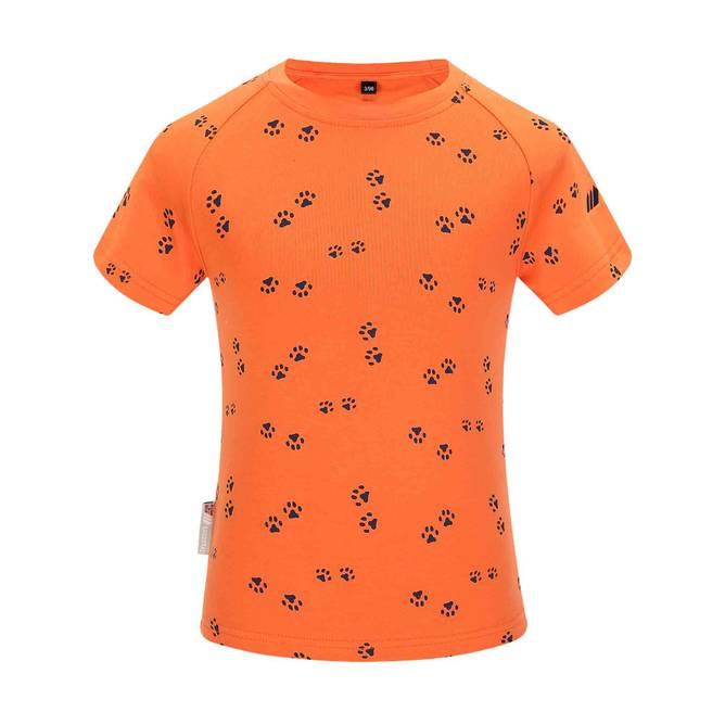 Bilde av Skogstad Heia T-Skjorte Blacing Orange Pr Barn