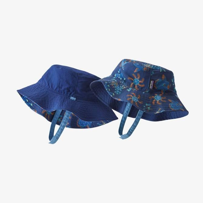 Bilde av Patagonia Baby Sun Bucket Hat Superior Blue