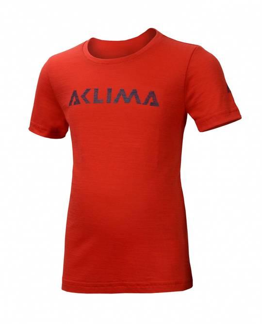 Bilde av Aclima Lightwool T-Shirt High Risk Red Barn