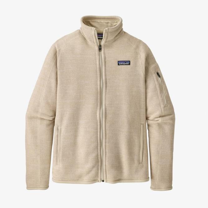 Bilde av Patagonia Better Sweater Jacket Dame Oyster White