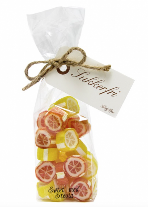 Bilde av 100 g Sukkerfri Appelsin og Sitronrox