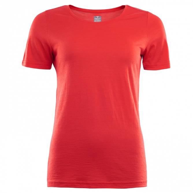 Bilde av Aclima Lightwool T-Shirt High Risk Red Dame