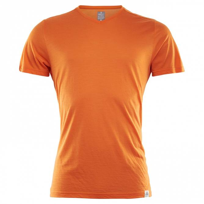 Bilde av Aclima Lightwool T-Shirt Orange