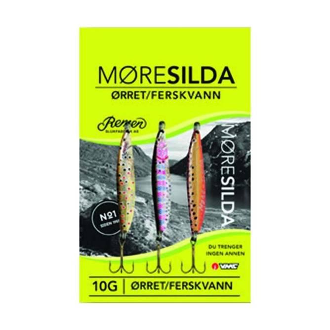 Bilde av Møresilda LTD Ørret sluk, 10 gram - 3 pk