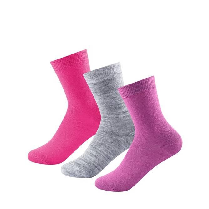 Bilde av Devold Daily Light Girl Mix Sock 3 Pk