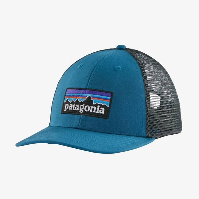 Bilde av Patagonia P-6 Logo LoPro Trucker Hat Steller Blue