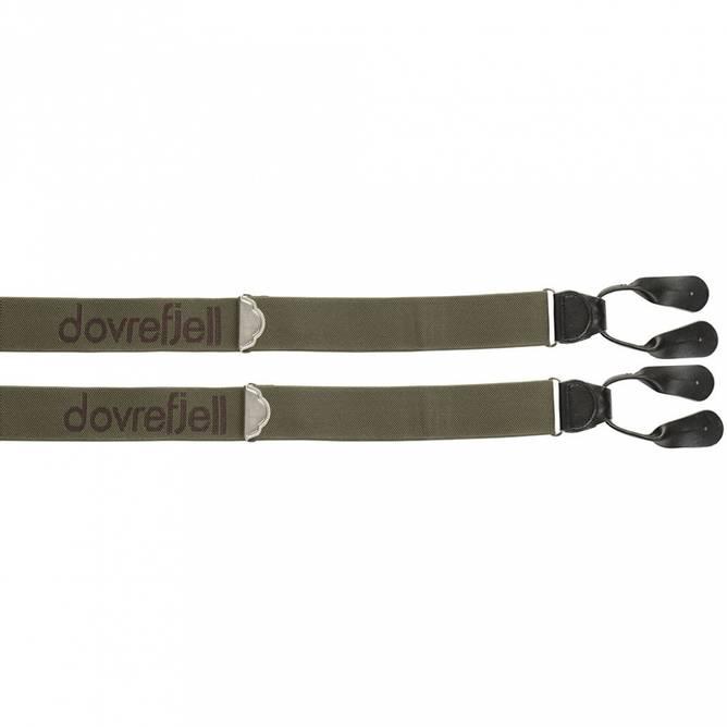 Bilde av Dovrefjell Classic bukseseler for knapper, grønn
