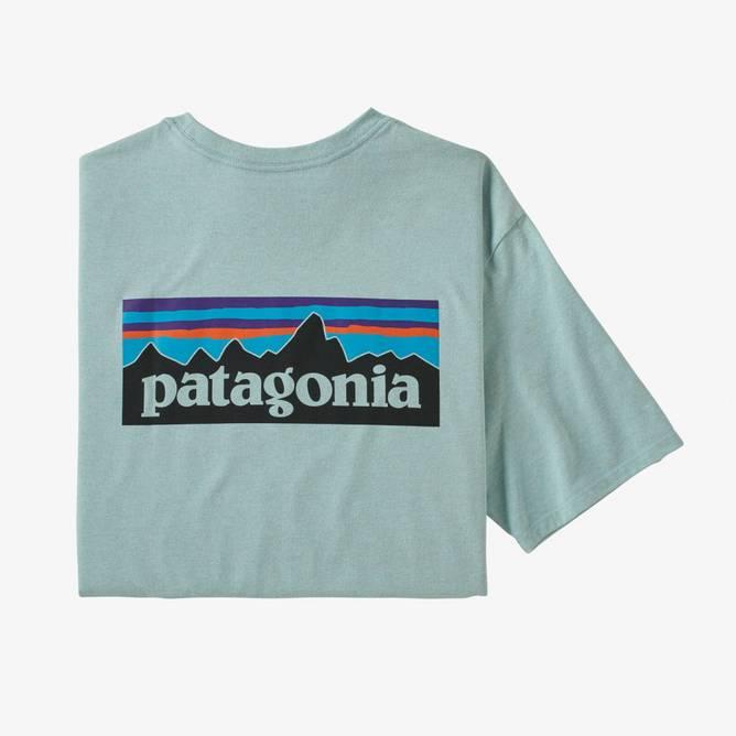 Bilde av Patagonia P-6 Logo Responsibili-Tee Big Sky Blue